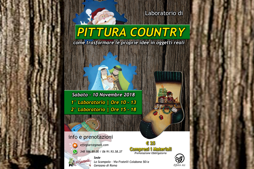 EffeGiArt | Laboratorio Pittura Country